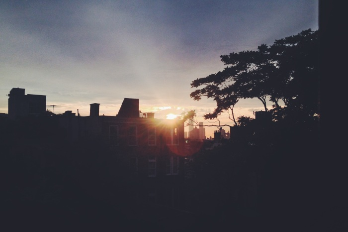 Fort Greene, Brooklyn Sunset